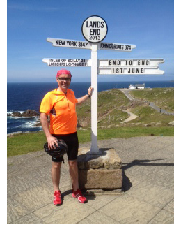 Mike Laird at Land's End